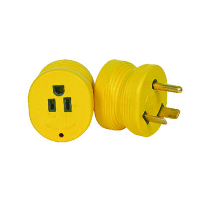 Camco Power Grip RV Electrical Adapters 1 pk