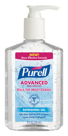 Purell Refreshing Gel Scent Hand Sanitizer 8 oz.