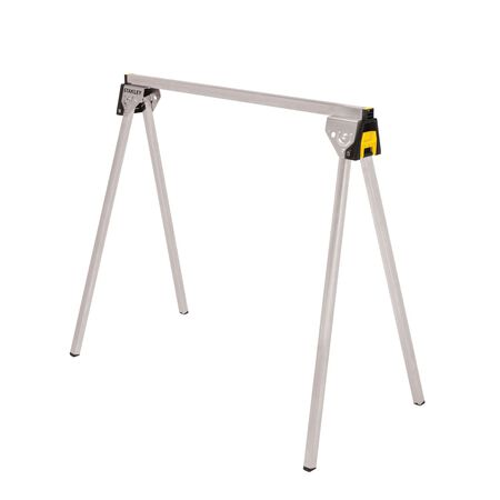 Stanley Essential 29 in. H x 31-1/8 in. D Folding Sawhorse Black 1 pc.