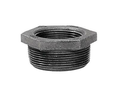 B & K 2 in. Dia. x 1 in. Dia. MPT To FPT Galvanized Malleable Iron Hex Bushing