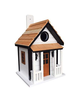 Home Bazaar 9.45 in. H Wood Bird House