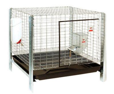 Pet Lodge Rabbit Hutch Kit 16 in. x 24 in. x 24 in.