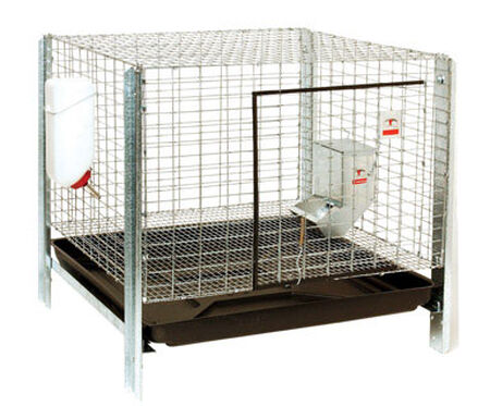 Pet Lodge Rabbit Hutch Kit 16 in. x 24 in. x 24 in.