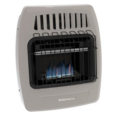 10,000 Btu Blue Flame Propane(LP) & Natural Gas(NG) Vent Free Wall Heater