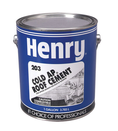 Henry Roll Roofing Cold-Ap Roof And Lap Adhesive 1 gal. Black