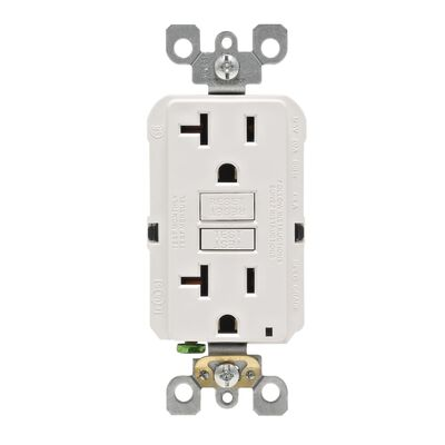 Leviton GFCI Receptacle 20 amps 5-20R 125 volts White