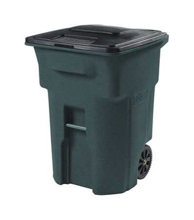 Toter 96 gal. Plastic Garbage Can