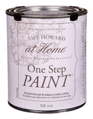 Amy Howard at Home Interior Latex One Step Paint Linen Flat Chalky Finish 32 oz.