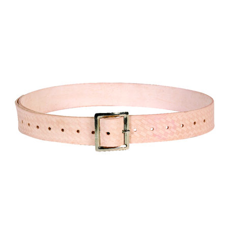 CLC 46 in. Tan Leather Work Belt 11 in. H x 46 in. L x 1.8 in. W