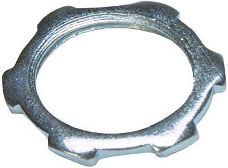 Sigma 1 in. Dia. Steel Electrical Conduit Locknut IMC