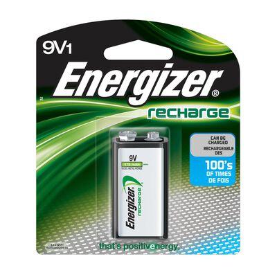 Energizer NiMH 9V 1.2 volts Rechargeable Batteries NH22NBP