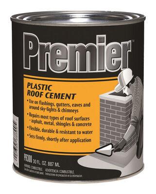 Premier Asphalt Plastic Roof Cement 30 oz. Black