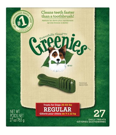 Greenies Medium Adult Dog Treats 27 oz. 27 pk