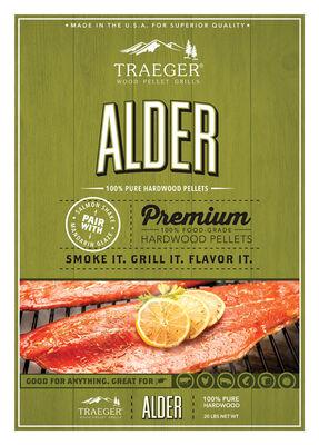 Traeger Alder Hardwood Pellets 20 lb.