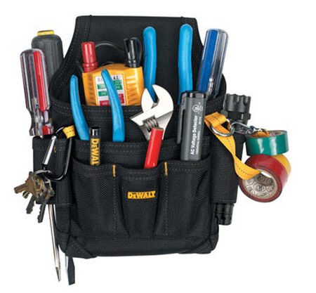 Dewalt Maintenance/Electrician's Pouch 2-3/4 in.