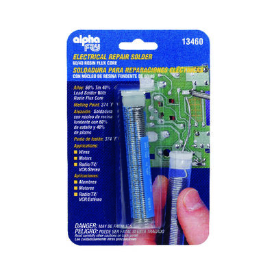 Alpha Fry 3/4 oz. For Electrical Repair Solder Tin / Lead 60% Tin 40% Lead