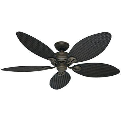 "Hunter Fan 54"" Bayview 5-Blade, Provincial Gold"