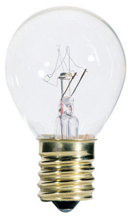 Westinghouse Incandescent Light Bulb 10 watts 80 lumens 2700 K S11 Intermediate Base (E17) Clear
