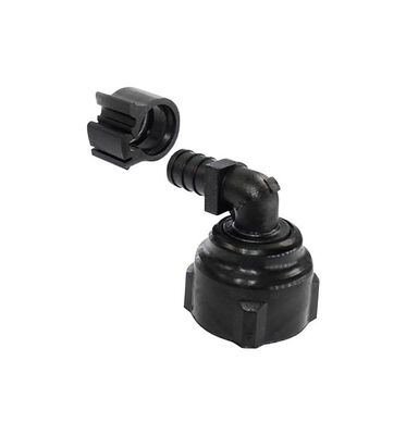 Flair-It PEXLock 1/2 in. FPT x 3/4 in. Dia. FPT PEX Swivel Elbow with Clamp