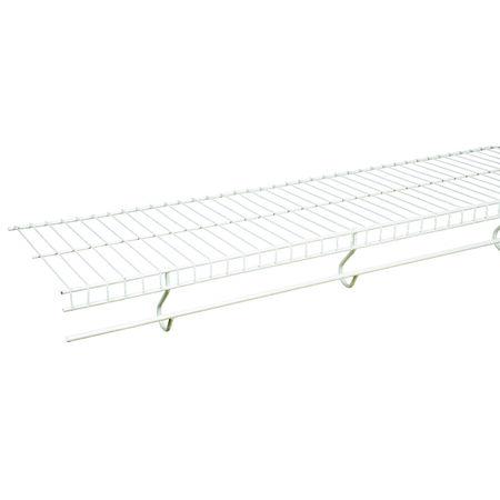 Rubbermaid 8 ft. L x 96 in. H x 12 in. W Free Slide Shelf White