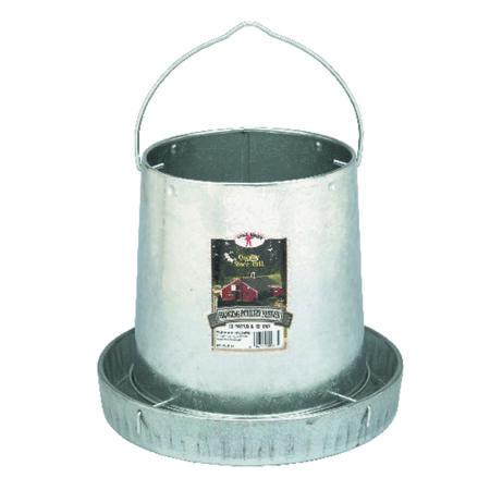 Miller 12 lb. Hanging Poultry Feeder 12 in. D x 10 in. H