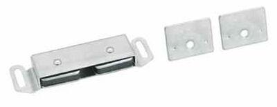 Amerock 1 in. W Aluminum Aluminum Magnetic Catch