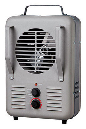 Soleil Milk House Utility Heater Gray