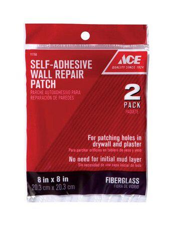 Ace Wall Repair Patch Fiberglass Mesh Self Adhesive 8 in. W x 8 ft. L