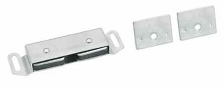 Amerock 1 in. W Aluminum Aluminum Magnetic Catch