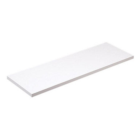Knape & Vogt 12 in. H x 24 in. L x 12 in. W White Particleboard/Melatex Laminate Shelf Board