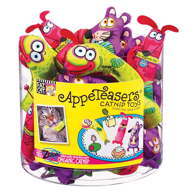 Fat Cat Appeteasers Assorted Catnip Toy Small