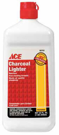 Grill Mark Charcoal Lighter Fluid 32 oz.