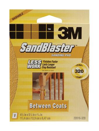 3M Sanding Pad 4-1/2 in. W x 5-1/2 in. L