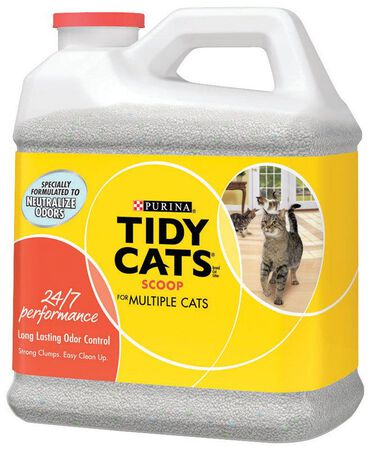 Tidy Cats Multi-Cat Scoopable Cat Litter 20 lb.