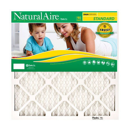 Ace 20 in. L x 12 in. W x 1 in. D Pleated Air Filter 8 MERV