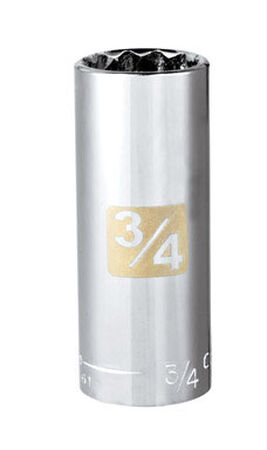 Craftsman 3/4 Alloy Steel Deep Socket 3/8 in. Drive in. drive