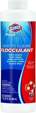 Clorox Pool&Spa Sink to Clear Flocculant 1 qt.