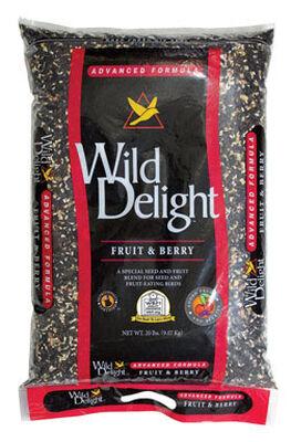Wild Delight Advanced Formula Assorted Species Wild Bird Food Fruit 'N Berry 20 lb.