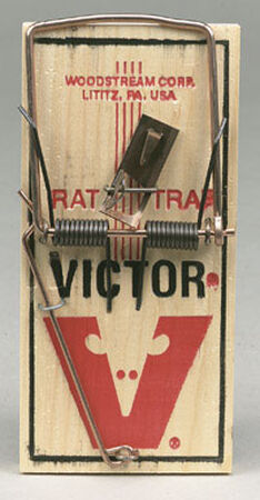 Victor Small Snap Animal Trap For Rats