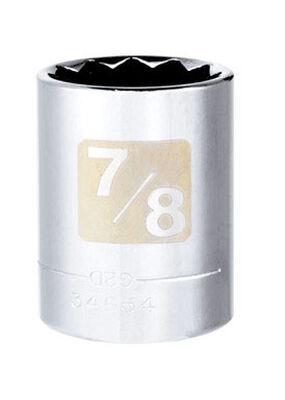 Craftsman 7/8 Alloy Steel Standard Socket 1/2 in. Drive in. drive