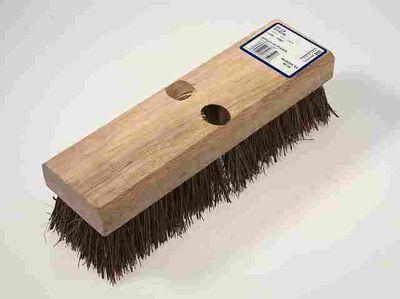 DQB 2 in. W Wood Deck Brush