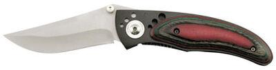 Frost Cutlery Avenger Stainless Steel Pocket Knife Red/Black