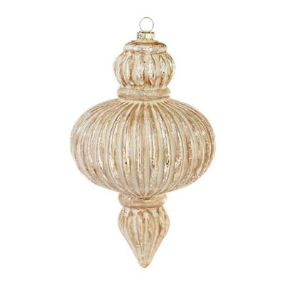 "7.5"" Finial Ornament"