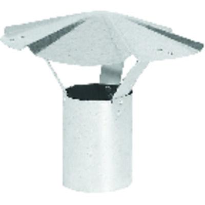 Imperial Manufacturing 6 in. Steel Rain Cap 30 Ga.