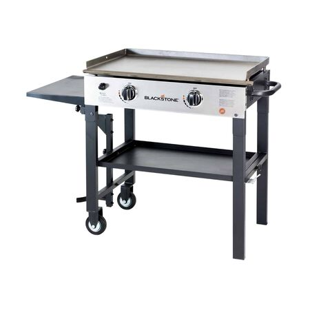 Blackstone Liquid Propane Patio Outdoor Griddle Black 2