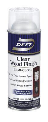 Deft Wood Finish Lacquer Semi-Gloss 12-1/4 oz.