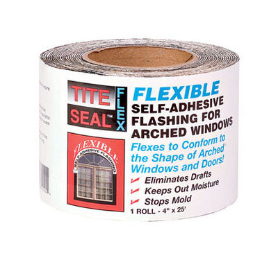 Tite Seal Foam Self Stick Instant Waterproof Repair and Flashing Clear 5-4/5 in. H x 25 ft. L x