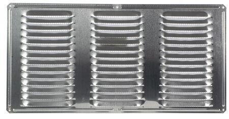 Air Vent Undereave Vent 16 in. x 8 in. 56 sq. in. 15 in. x 7 in. Aluminum Mill