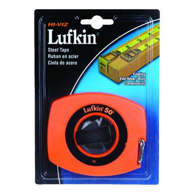 Lufkin Tape Rule 3/8 in. W x 50 ft. L