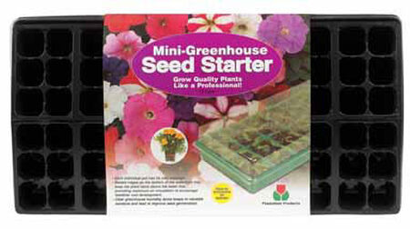 Plantation Products Greenhouse Tray With Dome 11 in. x 22 in. Watertight Blister